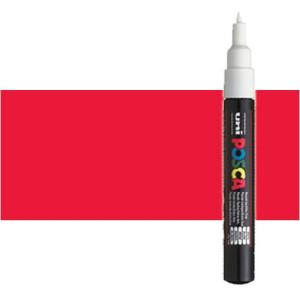 Totenart. Rotulador Posca Rojo (400) PC1M, punta redonda (0.7 mm.)