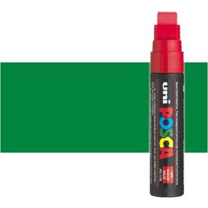 Totenart. Rotulador Posca Verde (500) PC17K, punta biselada (15 mm.)