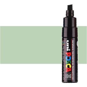 Totenart. Rotulador Posca Verde claro (520) PC8K, punta biselada (8 mm.)