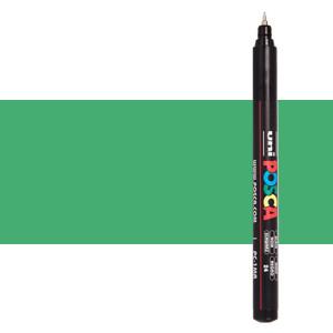 Metallic green (N. M6) Posca marker PC1MR, extra fine tip (0.7 mm.)