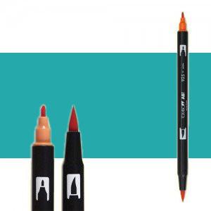 Tombow Marker 403 Bright Blue dual brush pen