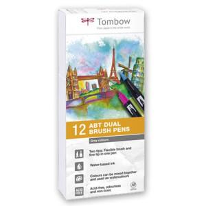 totenart-rotulador-tombow-set-de-12-colores-grises