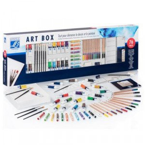 Art Box 76 pieces, Lefranc Bourgeois