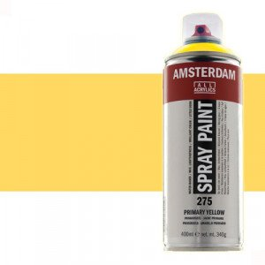 Totenart - Acrílico en spray Amarillo Nápoles Oscuro 223 Amsterdam 400 ml.