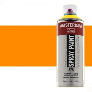 Totenart - Acrílico en spray Anaranjado Reflex 257 Amsterdam 400 ml.
