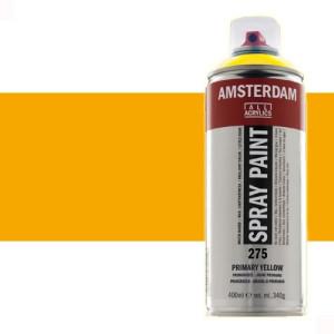 Totenart - Acrílico en spray Amarillo Azo Oscuro 270 Amsterdam 400 ml.