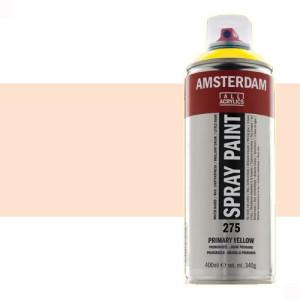 Totenart - Acrílico en spray Amarillo Nápoles Rojo Claro 292 Amsterdam 400 ml.