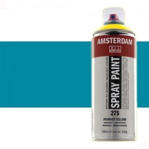 Totenart - Acrílico en spray Azul Turquesa 522 Amsterdam 400 ml.