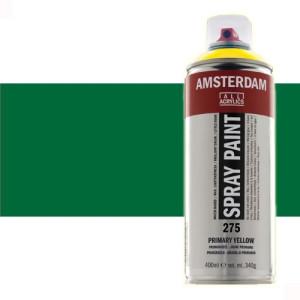 Totenart - Acrílico en spray Verde Permanente Oscuro  619 Amsterdam 400 ml.