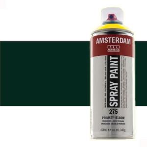 Totenart - Acrílico en spray Negro Óxido 735 Amsterdam 400 ml.