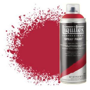 Totenart-Pintura en Spray Carmín quinacidrona 0110, Liquitex acrílico, 400 ml.