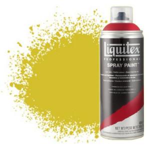 Totenart-Pintura en Spray amarillo medio azo 0142, Liquitex acrílico, 400 ml.