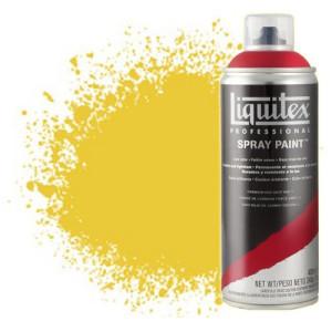 totenart-Pintura en Spray Amarillo cadmio oscuro 5, 5163 Liquitex acrílico, 400 ml.