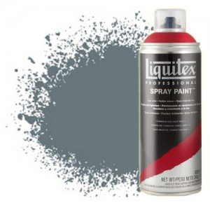Totenart-Pintura en Spray Gris neutro 5, 5599, Liquitex acrílico, 400 ml.