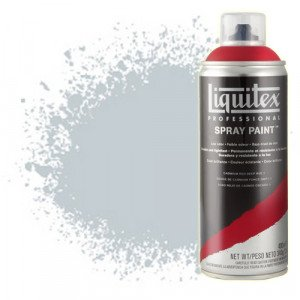 Totenart-Pintura en Spray Gris neutro 8, 8599, Liquitex acrílico, 400 ml.