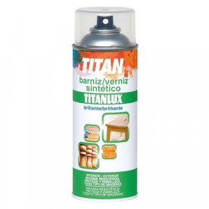 Titan Spray Lacquer Varnish Sparkly Colorless, 200 ml