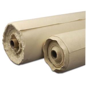 Tela de algodón color crudo sin imprimar (1,15x1 m)