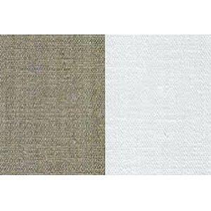 totenart-Tela 100% lino Claessens L160 imprimado, 395 gr, Gr. medio, rollo (1,50x10 m)