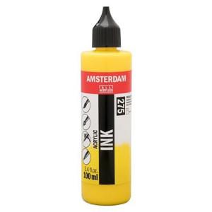 Amsterdam Acrylic Ink Primary Yellow 275 (100ml.)