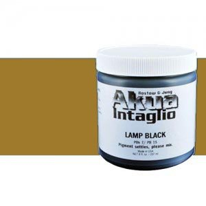 totenart-Tinta Calcografica al agua Akua Intaglio, 237 ml., Ocre Amarillo