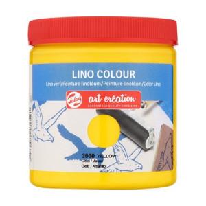 Lino Ink Yellow Colour 2000, 250 ml. Artcreation