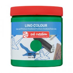 Lino Ink Green Colour 6001, 250 ml. Artcreation
