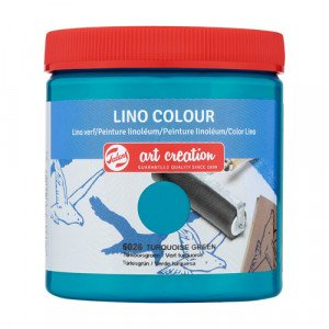 Lino Ink Turquoise Green Colour 6026, 250 ml. Artcreation