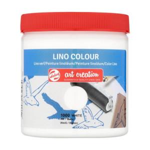 Lino Ink White Colour 1000, 250 ml. Artcreation