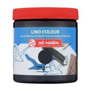 Lino Ink Black Colour 7000, 250 ml. Artcreation