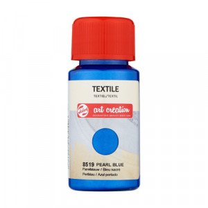 Pearl Blue Textile Ink 8519, 50 ml. Artcreation