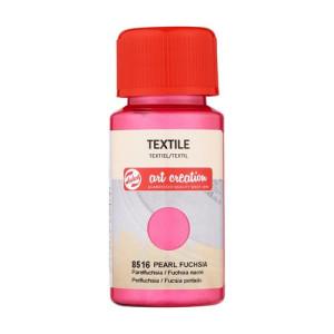 Pearl Fuchsia Textile Ink 8516, 50 ml. Artcreation