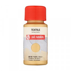Pearl Gold Textile Ink 8510, 50 ml. Artcreation