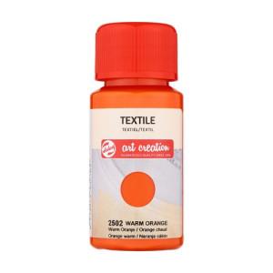 Warm Orange Textile Ink 2502, 50 ml. Artcreation