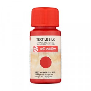 Powerful Red Textile Silk Ink 3023, 50 ml. Artcreation