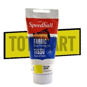 Tinta xilografia textil amarillo Speedball 75 ml.
