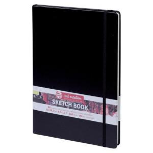 Drawing Bloc black A4, landscape, 80 s, 140 gr