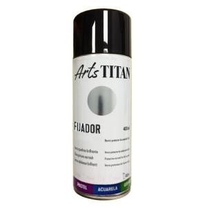Fixative Varnish SPRAY Titan, 400 ml.