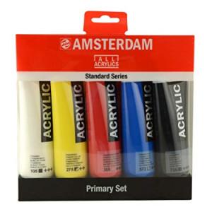 Amsterdam Acrylic Set 5 colors (120 ml)