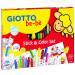 Kit de iniciación infantil (colores y pegatinas)