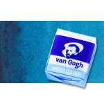 Watercolour Van Gogh pan, Turquoise Blue