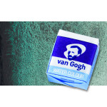 Watercolour Van Gogh pan, Twilight Green