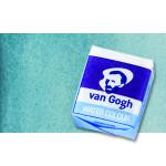 Watercolour Van Gogh pan, Turquoise Green