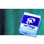 Watercolour Van Gogh pan, Phthalo Green