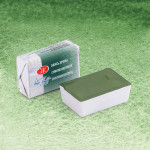 White Nights Watercolors in godet Oxide of Chromium Green 704