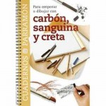 Notebook To start Drawing with charcoal, Parramón, in Spanish