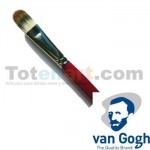 Cat Tongue Brush, Sinthetic hair, N. 04 Van Gogh