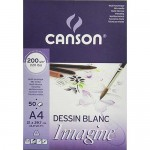 Imagine Canson Block, 42x59.4 cm, 200 gr, 50 s.