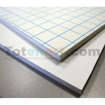 Adhesive White Foam Board, 3 mm., 100x200 cm., box 30 units