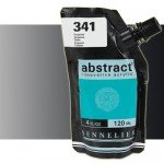 Sennelier Abstract Acrylic Iridescent Black 070, 120 ml.