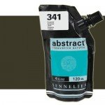 Sennelier Abstract Acrylic Burnt Umber 202, 120 ml.
